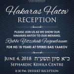 Hakaras Hatov Reception