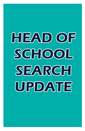 Head Of School Search Update
